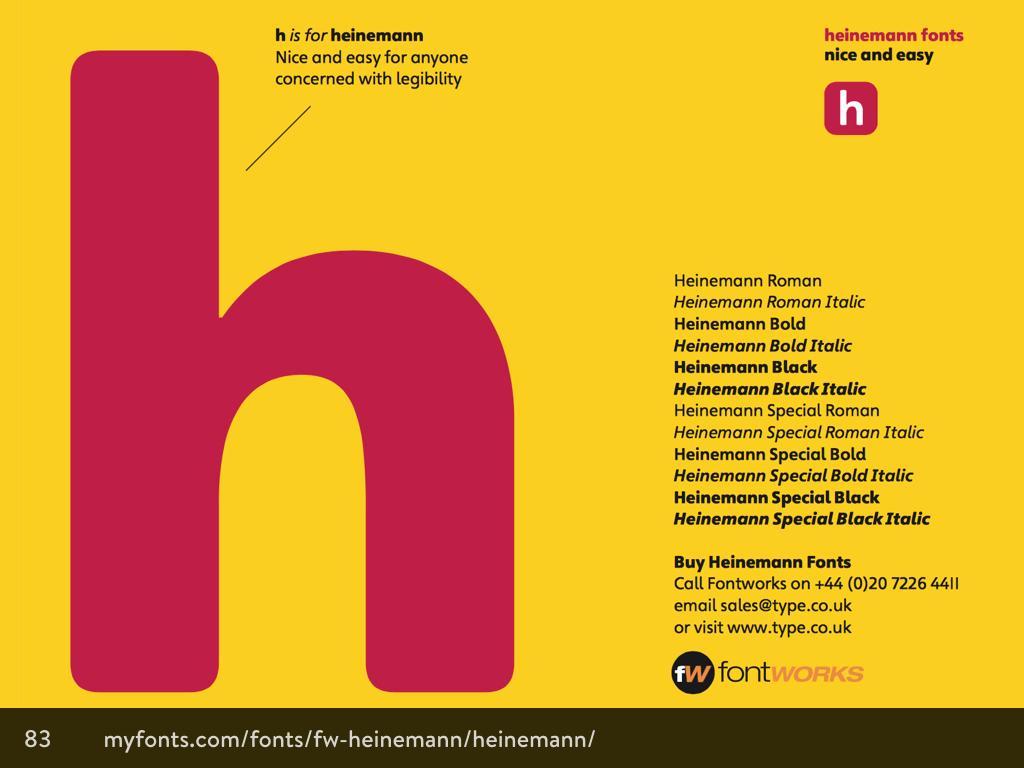 Heinemann type family