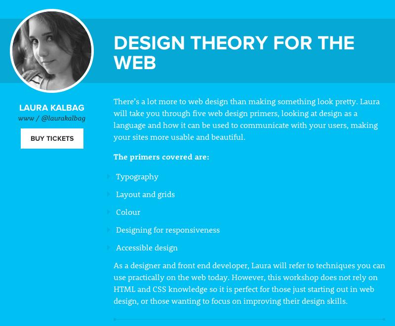 Design theory for web workshop at Interlink conference