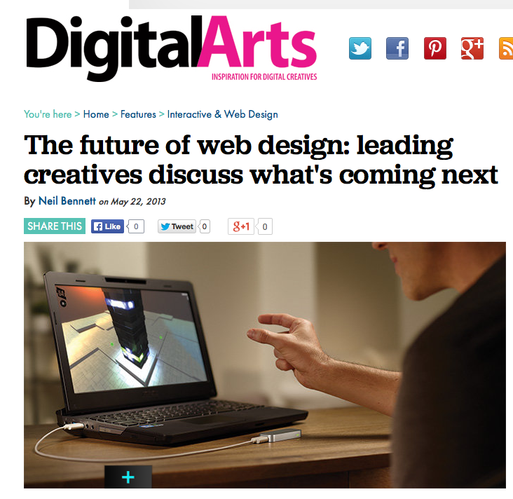 Digital Arts - The future of web design: leading creatives discuss what's coming next