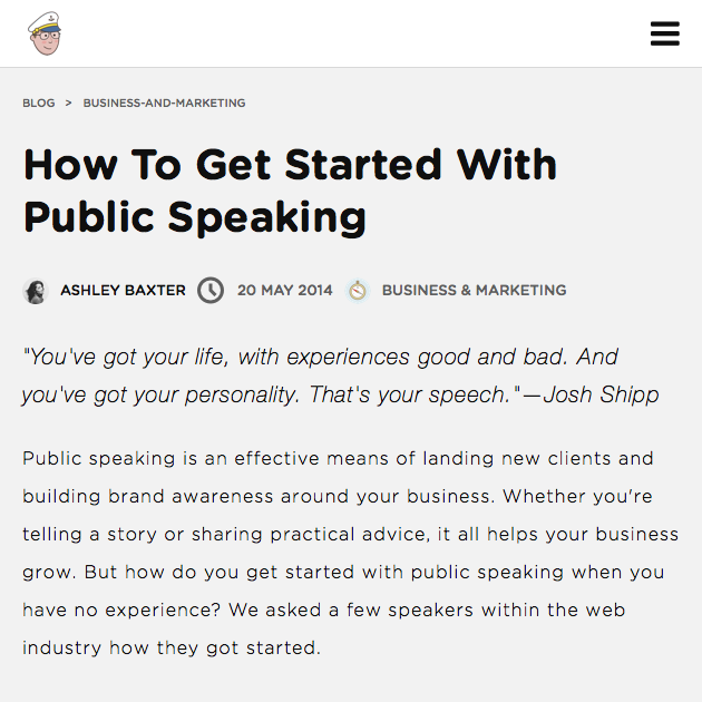 How To Get Started With Public Speaking on Insurance By Jack