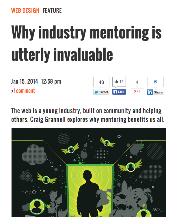 Why industry mentoring is utterly invaluable on Creative Bloq