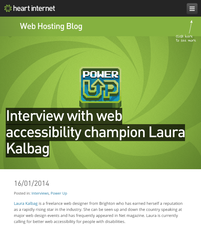 Interview with Laura Kalbag on Heart Internet