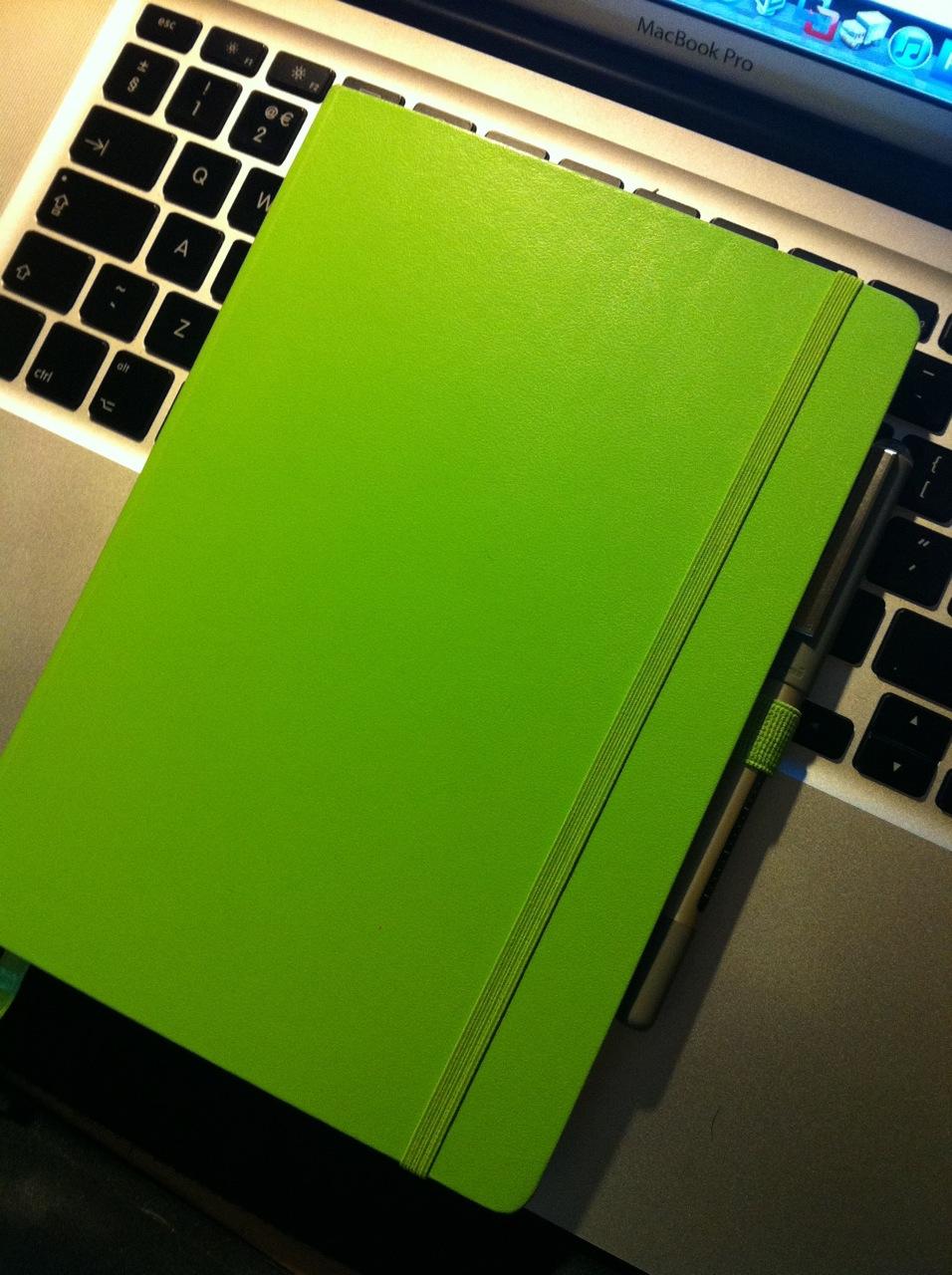 Leuchtturm1917 Lime Notebook