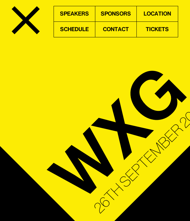 WXG 2014, a one-day web conference — Friday 26 September, Guildford, UK.