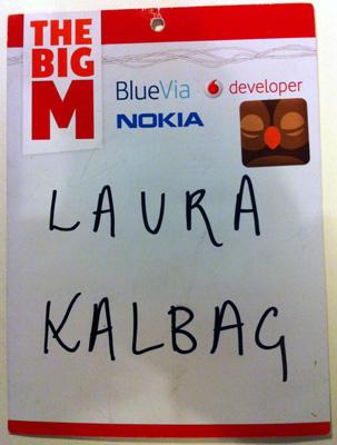 Big M badge