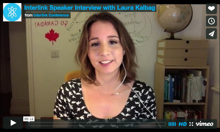 Laura Kalbag and Steve Fisher talk about Interlink conference